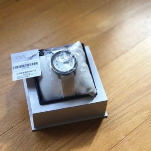 Movado Bold white watch. New in box.